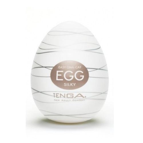 Tenga, Япония Стимулятор яйцо Silky № 6, egg-006