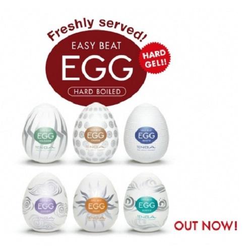 Tenga, Япония Набор стимуляторов Tenga EGG (NEW EDITION) 6 шт.,egg-vp6-2