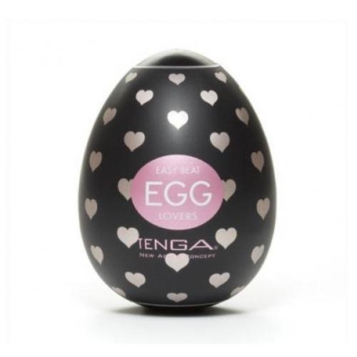 Tenga, Япония Стимулятор яйцо Tenga LOVERS (black), egg-001l