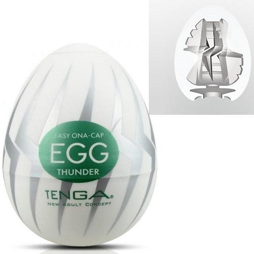 Tenga, Япония Мастурбатор № 7 Стимулятор яйцо Thunder egg-007