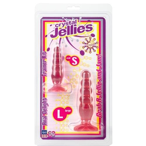 -Doc Johnson Enterprises USA Анальные пробки 2 штуки (розовый), 283-10 CD DJ
