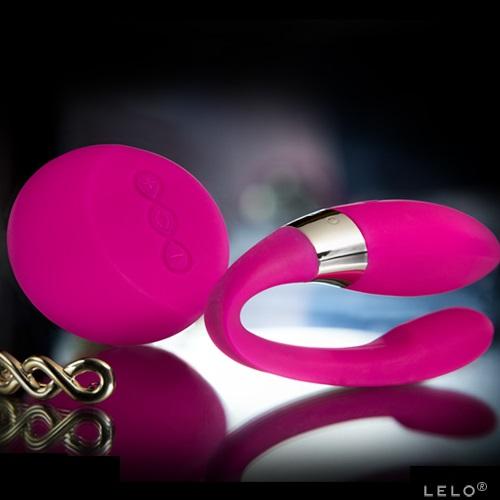 -LELOi AB Вибромассажер для пар Lelo Tiani 2 Design Edition Cerise (светло-вишневый),  5967
