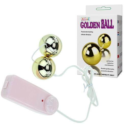 Liaoyang Baile Health Care Product Co. Шарики вагинальные с вибрацией Goden Balls BI-014049-6