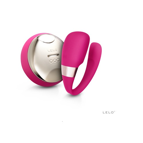 -LELOi AB Вибромассажер для пар с ДУ Lelo Tiani 3,светло-вишневый, 9347