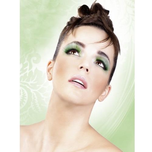 -Baci Lingerie Lashes Collection Ресницы зелёные длинные, BL522