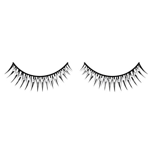 -Baci Lingerie Lashes Collection Ресницы чёрные с серебрянными  стразами, BL573