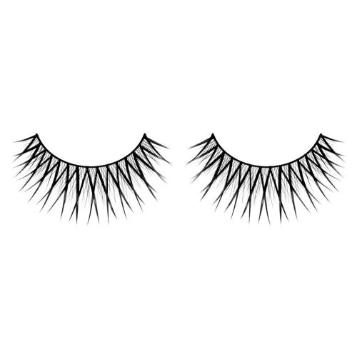 -Baci Lingerie Lashes Collection Ресницы чёрные накладные Premium, BL580