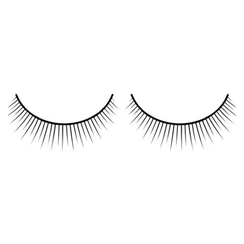 -Baci Lingerie Lashes Collection Ресницы чёрные накладные Premium, BL589