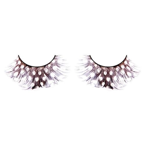 -Baci Lingerie Lashes Collection Ресницы коричневые  перья, BL607