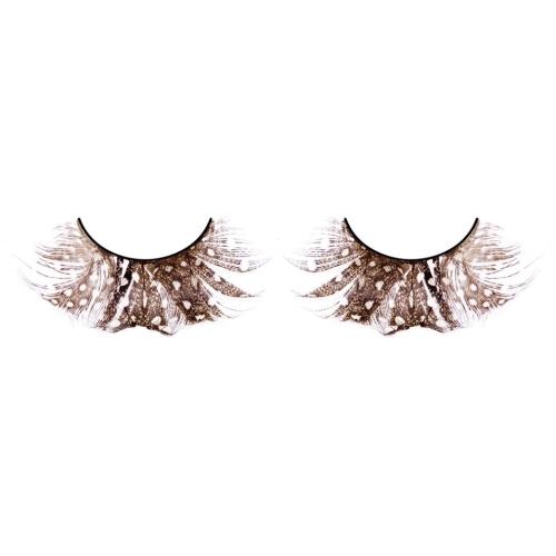 -Baci Lingerie Lashes Collection Ресницы коричневые  перья, BL613