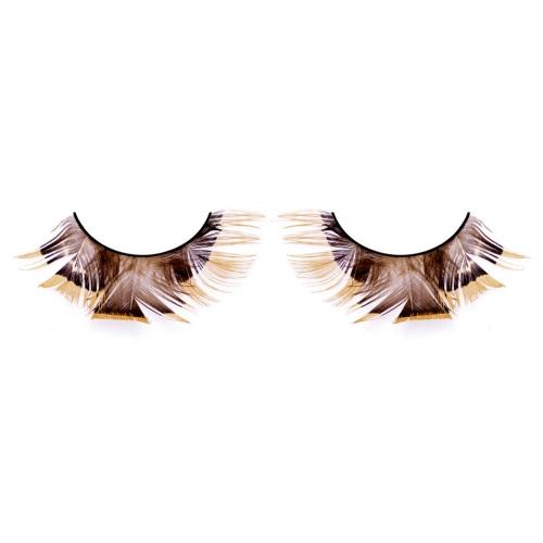 -Baci Lingerie Lashes Collection Ресницы коричневые  перья, BL625