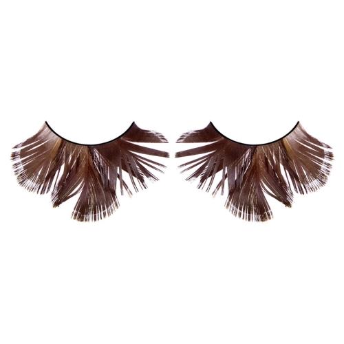 -Baci Lingerie Lashes Collection Ресницы коричневые  перья, BL631