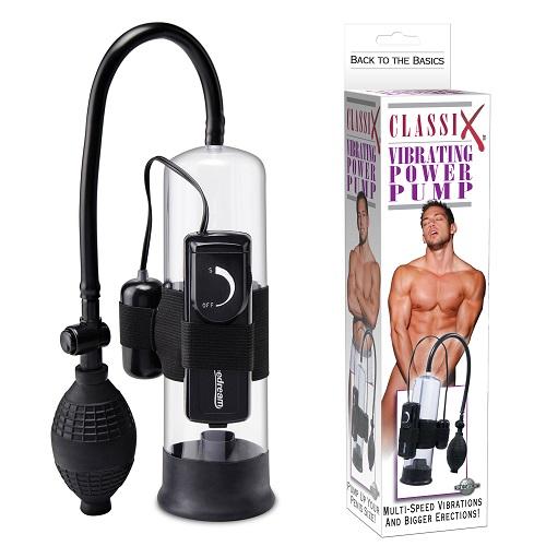 -Pipedream Помпа мужская Classix Vibrating Pump с вибрацией PD1927-00