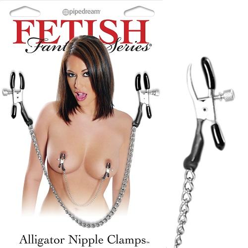 -Pipedream Зажимы на соски Alligator Nipple Clamps PD2177-00