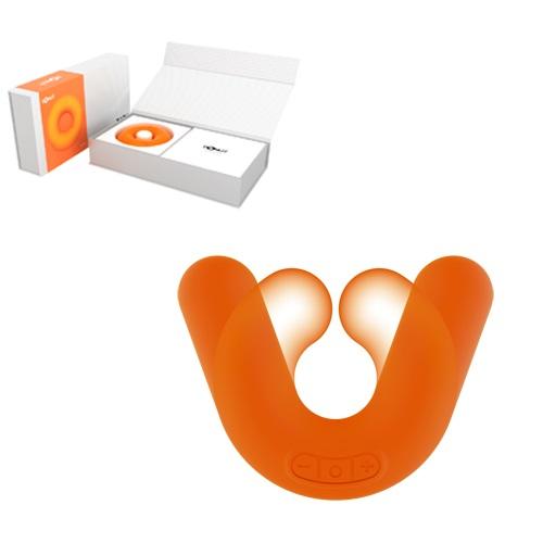ZINI Универсальный вибромассажер DONUT ORANGE оранжевый ZV031