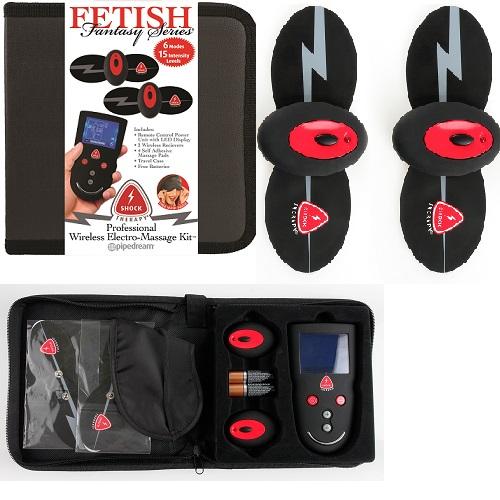 Pipedream Products Inc, USA Набор электростимуляторов с маской, пульт управления с ЖК дисплеем,3725-05 PD