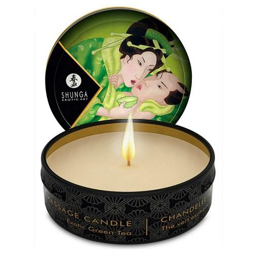 Eau Zone Huiles  Fragrances (Canada) Массажное арома масло Зеленый чай Exotic Green Tea 30мл, 4611DESC