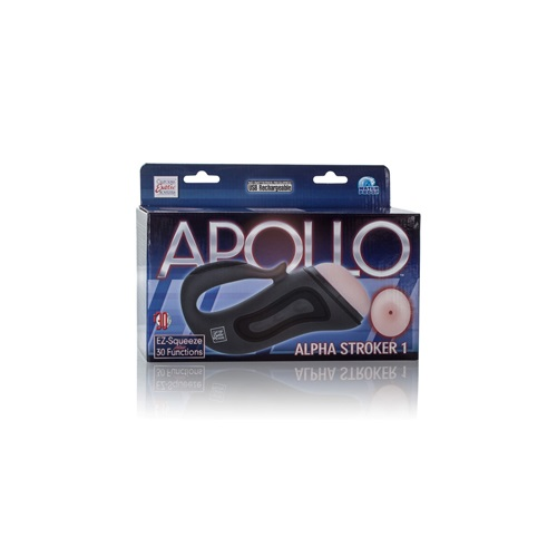 California Exotic Novelties Мастурбатор-анус Apollo Alpha Stroker Alpha Stroker 1 с вибрацией серый, SE-0848-50-3