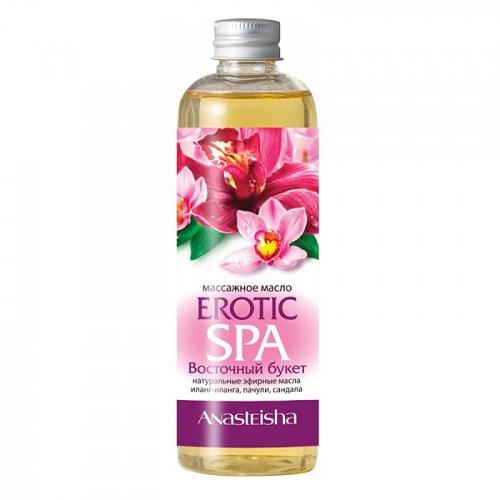 -Anasteisha, Китай Массажное масло для тела Erotic SPA Восточный букет 150 мл, MA043