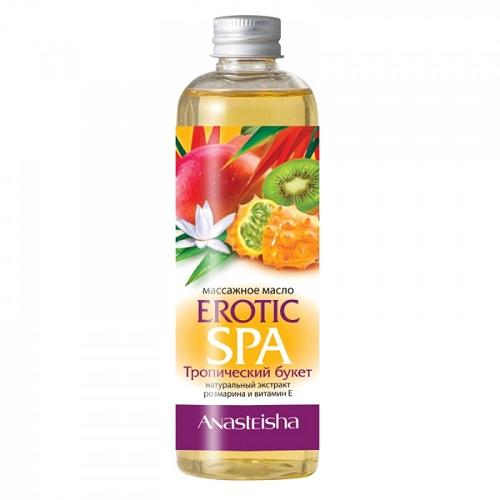 -Anasteisha, Китай Массажное масло для тела Erotic SPA Тропический букет 150 мл, MA044