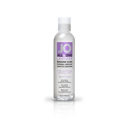 System JO, США Массажный гель-масло ALL-IN-ONE Massage Oil,с ароматом лаванды,  135 мл, JO40024