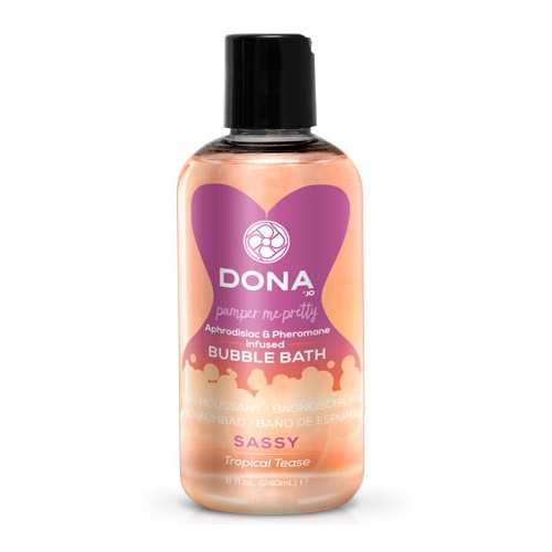 -SYSTEM JO Products Пена для ванн DONA Bubble Bath Sassy Aroma: Tropical Tease, JO40543