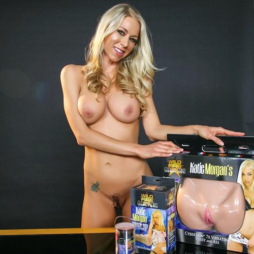 Topco Sales, США Мастурбатор вагина и анус Katie Morgan, с вибрацией, 1112607 TS