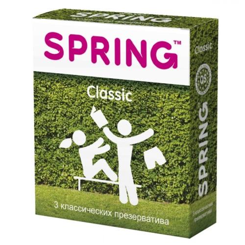 Spring, Китай Презервативы Spring Classic классические 1 блок (12 уп), MA047