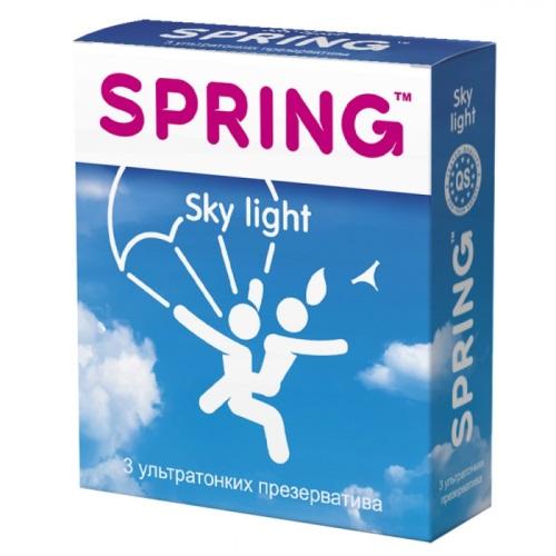 Spring, Китай Презервативы Spring Sky Light ультратонкие 1 блок (12 уп), MA049