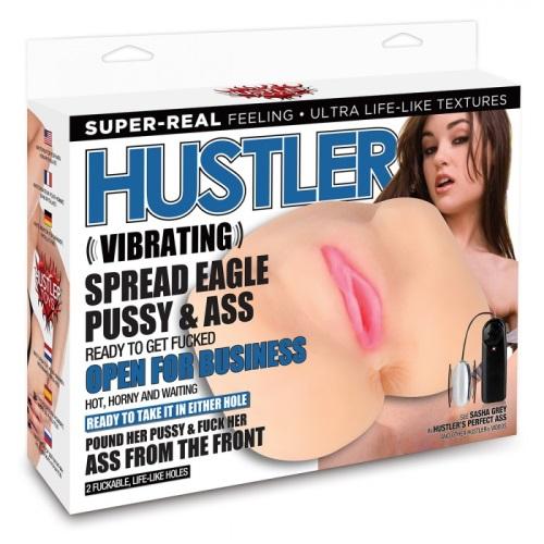 Hustler Toys, США Вибро-мастурбатор в позе раздвинутых ног от SASHA , HT-P17