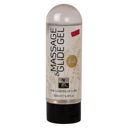 Shiatsu, Великобритания Массажное масло, Massage   Glide Gel, 66007