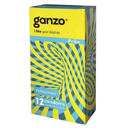 ФармЛайн Презервативы Ganzo Ribs № 12, Gn-21012