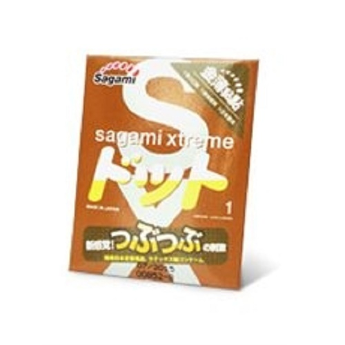 Sagami, Япония Презервативы Sagami Xtreme Feel Up 1S ., точечная текстура 1 шт., 00-00000044