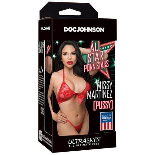 -Doc Johnson Вагина мастурбатор All Star Porn Stars - ULTRASKYN Pocket Pals - Missy Martinez, 5331-07 BX DJ