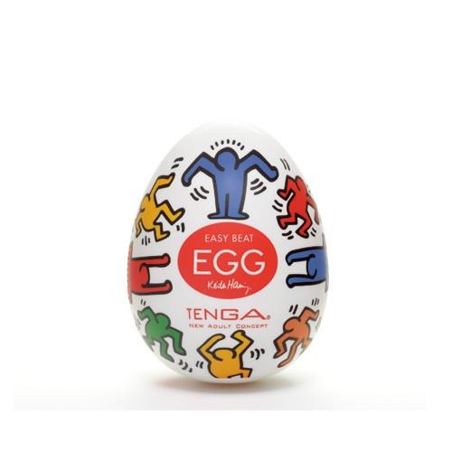 Tenga, Япония Мастурбатор яйцо Dance,TENGAKeith Haring Egg  khe-002