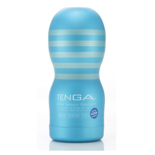 Tenga, Япония Стимулятор Tenga Deep Throat Cool Edition, toc-101c