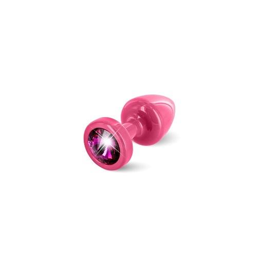 Diogol Анальная пробка (розовая, малиновый кристалл) 9020060082
