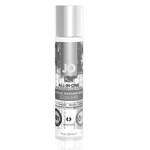 System JO, США Массажное гель-масло на силиконовой основе JO ALL-IN-ONE MASSAGE GLIDE - FRAGRANCE FREE (SILICONE-BA