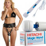 **Вибромассажер Hitachi Magic Wand Original, HV-250R