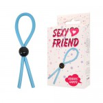 Кольцо эрекционное Лассо Sexy Friend , sf-70226