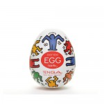 Мастурбатор яйцо Dance,TENGA&Keith Haring Egg  khe-002