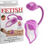 Вибромассажер Fetish Fantasy Series Perfect Touch Vibrating Pump - Purple, 3226-12
